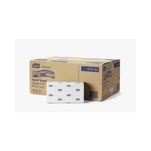 290163 Tork Zachte Z-vouw Handdoek 2-laags Wit