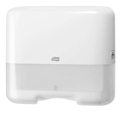 553100 Tork Z-vouw/C-vouw Mini Handdoek Dispenser Kunststof Wit H3