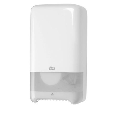 557500 Tork Twin Mid-size Toiletpapier Dispenser Kunststof Wit