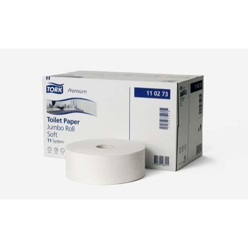 110273 Tork Premium Toilet Paper Jumbo Roll Soft