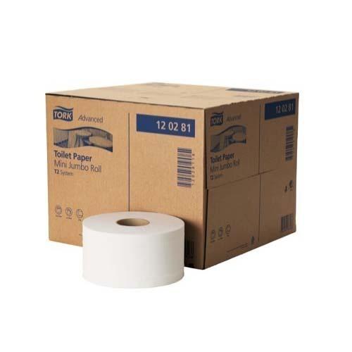 120280 Tork Advanced Toilet Paper Mini Jumbo Roll