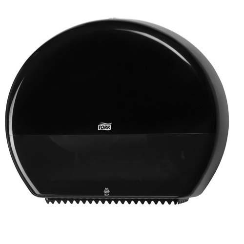 554008 Tork Jumbo Toiletpapier Dispenser Kunststof Zwart