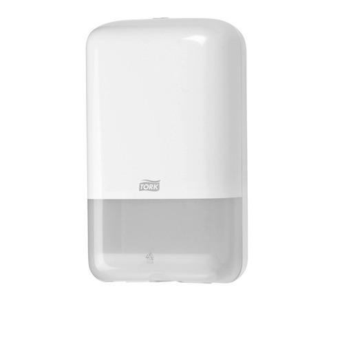 556000 Tork Gevouwen Toiletpapier Dispenser Kunststof Wit