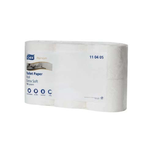 110405 Tork Extra Soft Conventional Toilet Roll – 4 ply