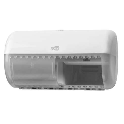 557000 Tork Traditioneel Toiletpapier Dispenser Kunststof Wit