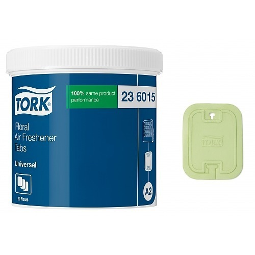 236015 Tork Universal Airfreshener Disc Lemon