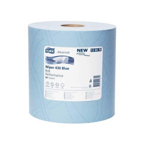 130070 Tork Advanced Wiper 430 Roll Blue Performance