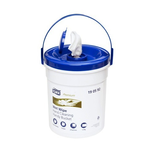 190592 Tork Premium Wet Wipe Hand Cleaning Handy Bucket