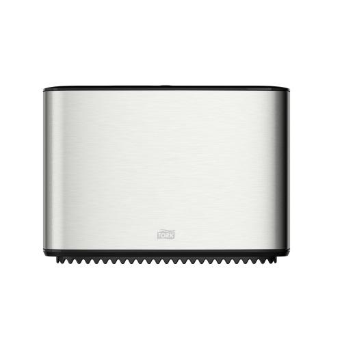 460006 Tork Toilet Paper Mini Jumbo Roll Dispenser RVS