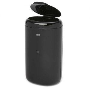 afvalbak mini Kunstof Zwart 5 liter