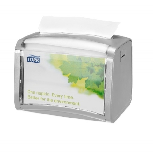272613 Tork Xpressnap® Tabletop servetdispenser lichtgrijs (N4)