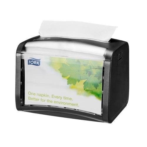 272611 Tork Xpressnap Tabletop servetdispenser Zwart (N4)