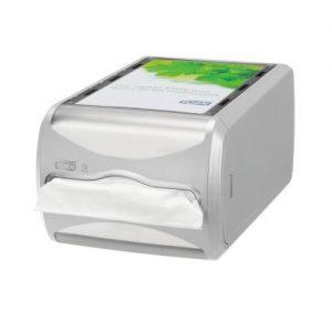 counter servetdispenser lichtgrijs