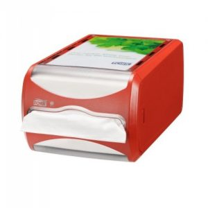 counter dispenser rood