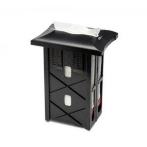 servet dispenser zwart 30cm