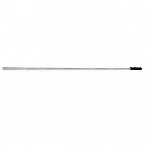 Steel 140cm aluminium met drie gaatjes