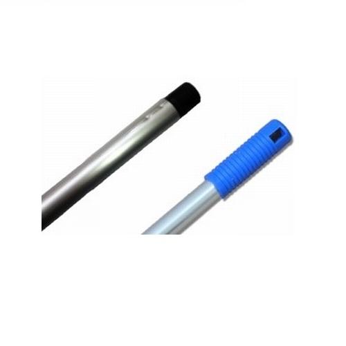 Steel 140cm aluminium met schroefdraad