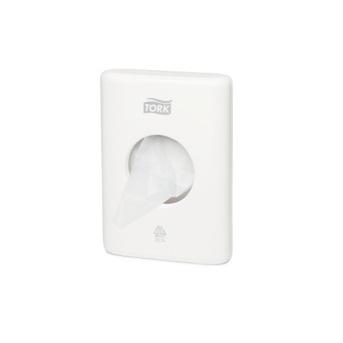566000 Tork Sanitary Towel Bag Dispenser